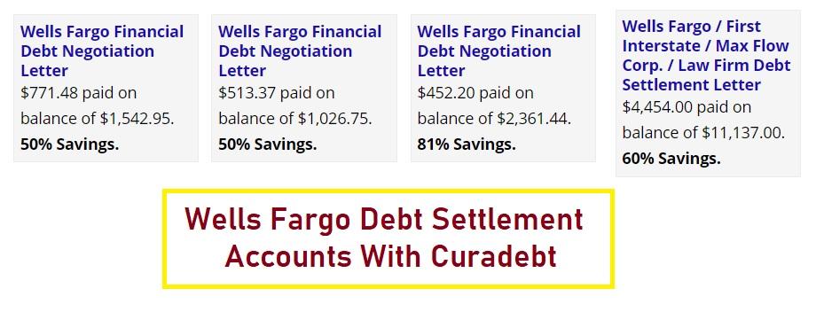 Debt Settlement With Wells Fargo - Proof It Works ...